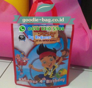Tas Ulang Tahun Anak Jake Neverland Pirates