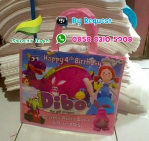 Tas Ulang Tahun Dibo The Gift Dragon / Tas Ultah Tas Dibo The Gift Dragon