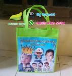 Tas Ulang Tahun Doraemon Pakai Foto