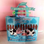 Tas Ultah Sapi / Tas Souvenir Ulang Tahun Tema Sapi Cow
