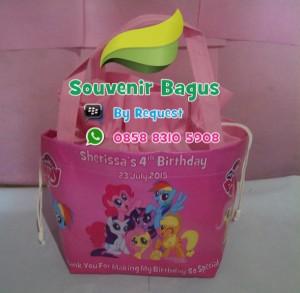 Tas Ulang Tahun Serut My Little Pony