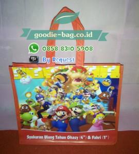 Tas Ultah Anak Mario Bros / Tas Souvenir Ulang Tahun Mario Bros