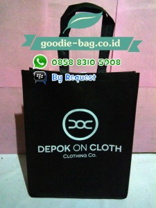 Tote Bag Spunbond / Tas Promosi Distro / Tas Distro / Goodie Bag Distro