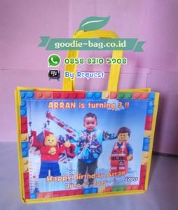 Tas Ultah Anak Lego / Tas Ulang Tahun Anak Lego