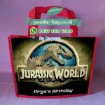 Tas Ulang Tahun Jurassic World / Tas Ultah Anak Jurassic World Dinosaurus