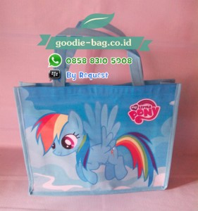 Tas Ultah My Little Pony / Tas Ulang Tahun My Little Pony / Goodie Bag Birthday My Little Pony