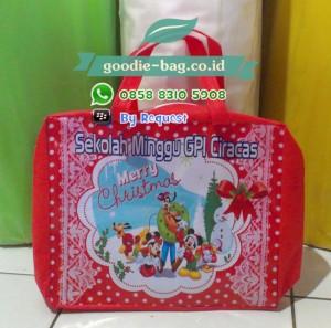 Tas Natal / Goodie Bag Natal / Tas Promosi Natal