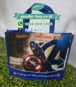 Tas Ultah Anak Captain America