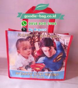 Tas Ultah Anak Superman / Tas Ulang Tahun Superman