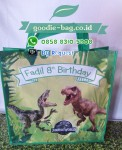 Tas Ultah Anak Jurassic World / Tas Ulang Tahun Tema Animal Dinosaurus