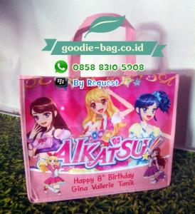Tas Ultah Anak Aikatsu / Tas Ulang Tahun Aikatsu / Goodie Bag Aikatsu