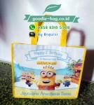 Tas Souvenir Ultah Anak Minions / Tas Ulang Tahun Murah Minions