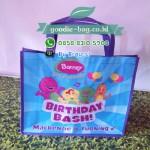 Tas Ultah Barney / Souvenir Ulang Tahun Barney