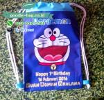Tas Ultah Doraemon / Souvenir Ulang Tahun Doraemon / String Bag Doraemon