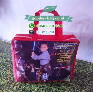 Tas Ultah Star Wars / Tas Souvenir Ulang Tahun Anak Star Wars