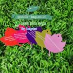 Maple Leaf Wedding Gift Tag / Kartu Ucapan Terima Kasih Pernikahan