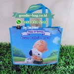 Goodie Bag Ulang Tahun Snoopy and Charlie Brown / Tas Ultah Snoopy