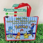 Goodie Bag Ultah Pokemon Tas Ultah Pokemon Go