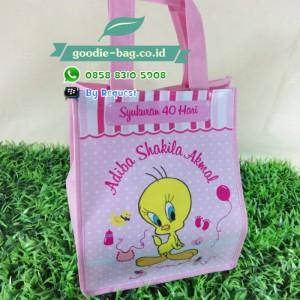Tas Syukuran 40 Hari Kelahiran / Goodie Bag Baby One Month Tema Tweety