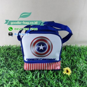 Tas Lunch Box Susun Captain America