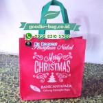 Goodie Bag Christmas Perusahaan / Tas Natal Perusahaan Bank