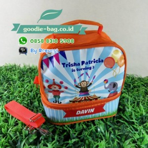 Goodie Bag Lunch Box Susun Tema Sirkus
