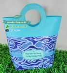 Tas Souvenir Batik Mega Mendung Biru Muda