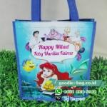 Tas Ulang Tahun Jinjing Little Mermaid / Putri Duyung