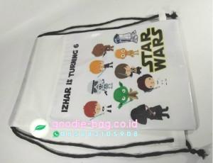 Tas Ultah Star Wars Serut Backpack