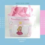Tas Ulang Tahun Unik Serut Princess Pink