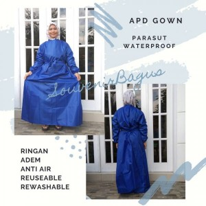 APD Gown Parasut Anti Air Waterproof