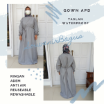 APD Gown Taslan Parasut Anti Air