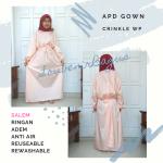APD Medis Gown Perawat Anti Air Adem Selain Taslan