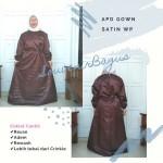 Jual APD Gown Perawat Coklat Ready Stock